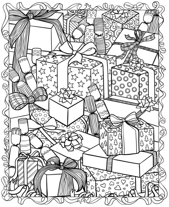 Holiday coloring #11, Download drawings