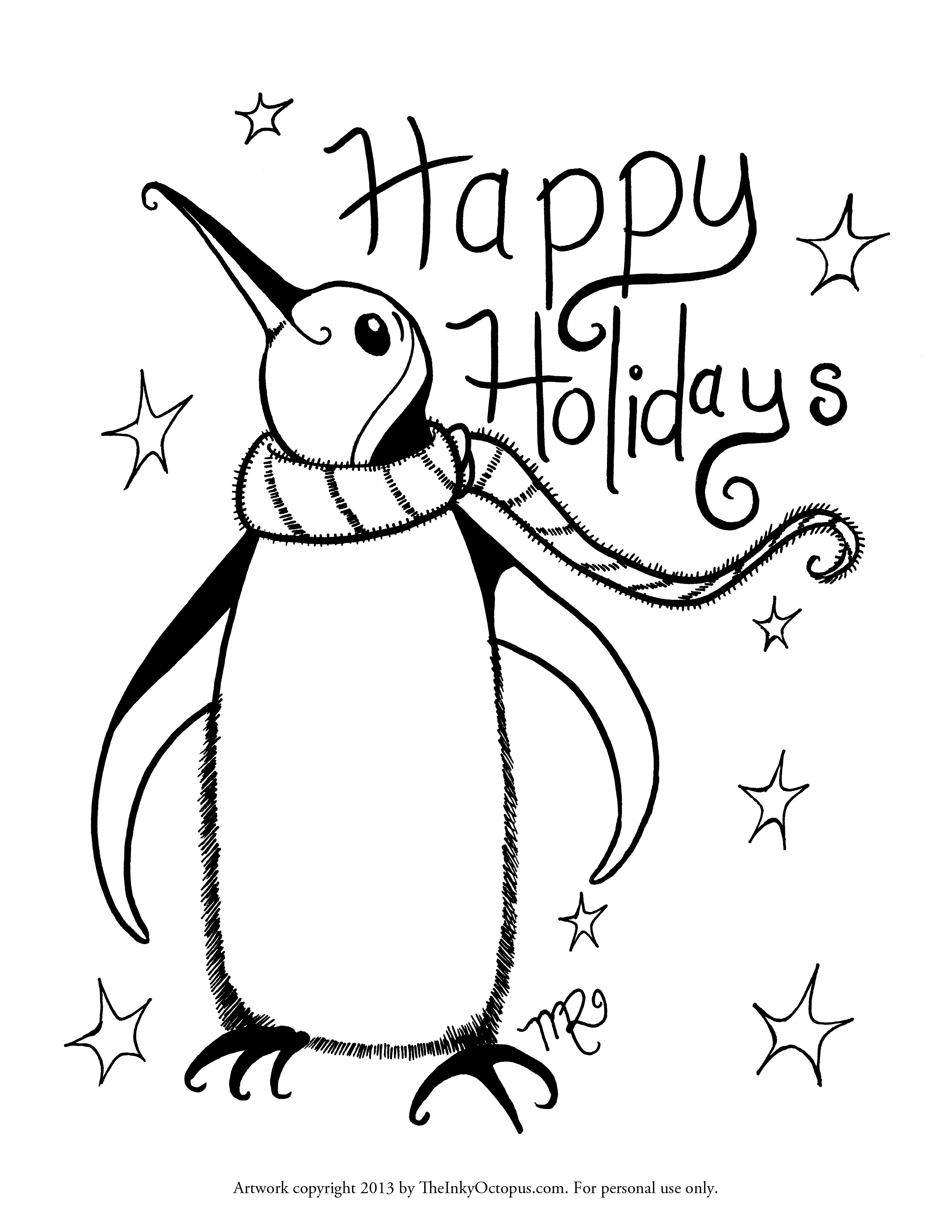 Holiday coloring #10, Download drawings