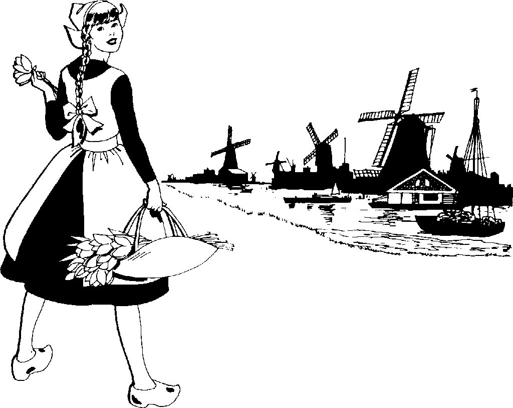 Holland clipart #2, Download drawings