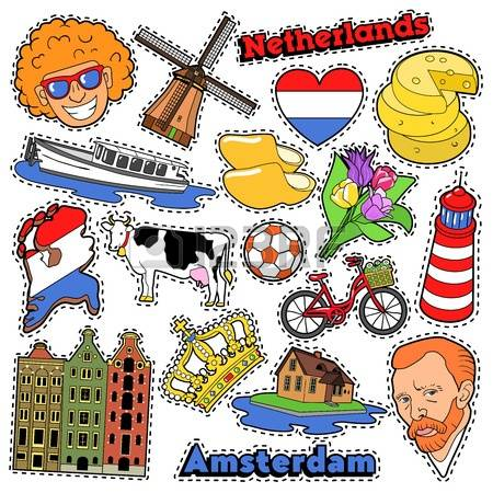 The Netherlands clipart #13, Download drawings