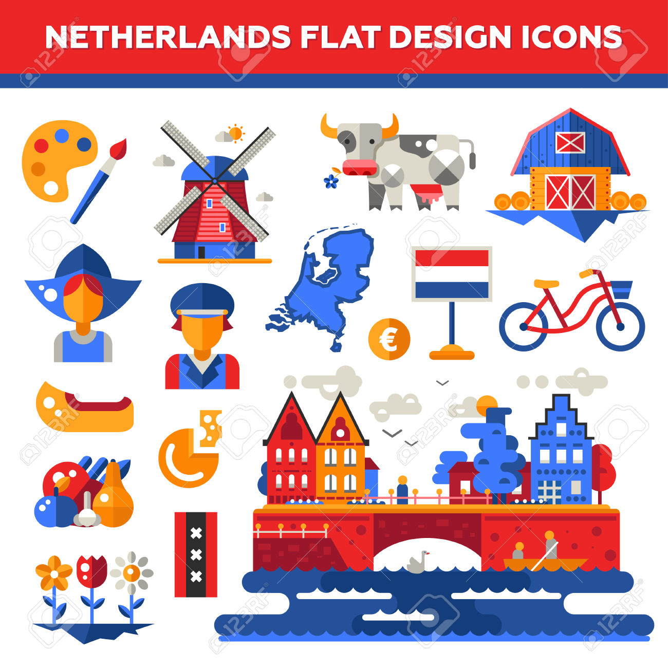 The Netherlands clipart #16, Download drawings