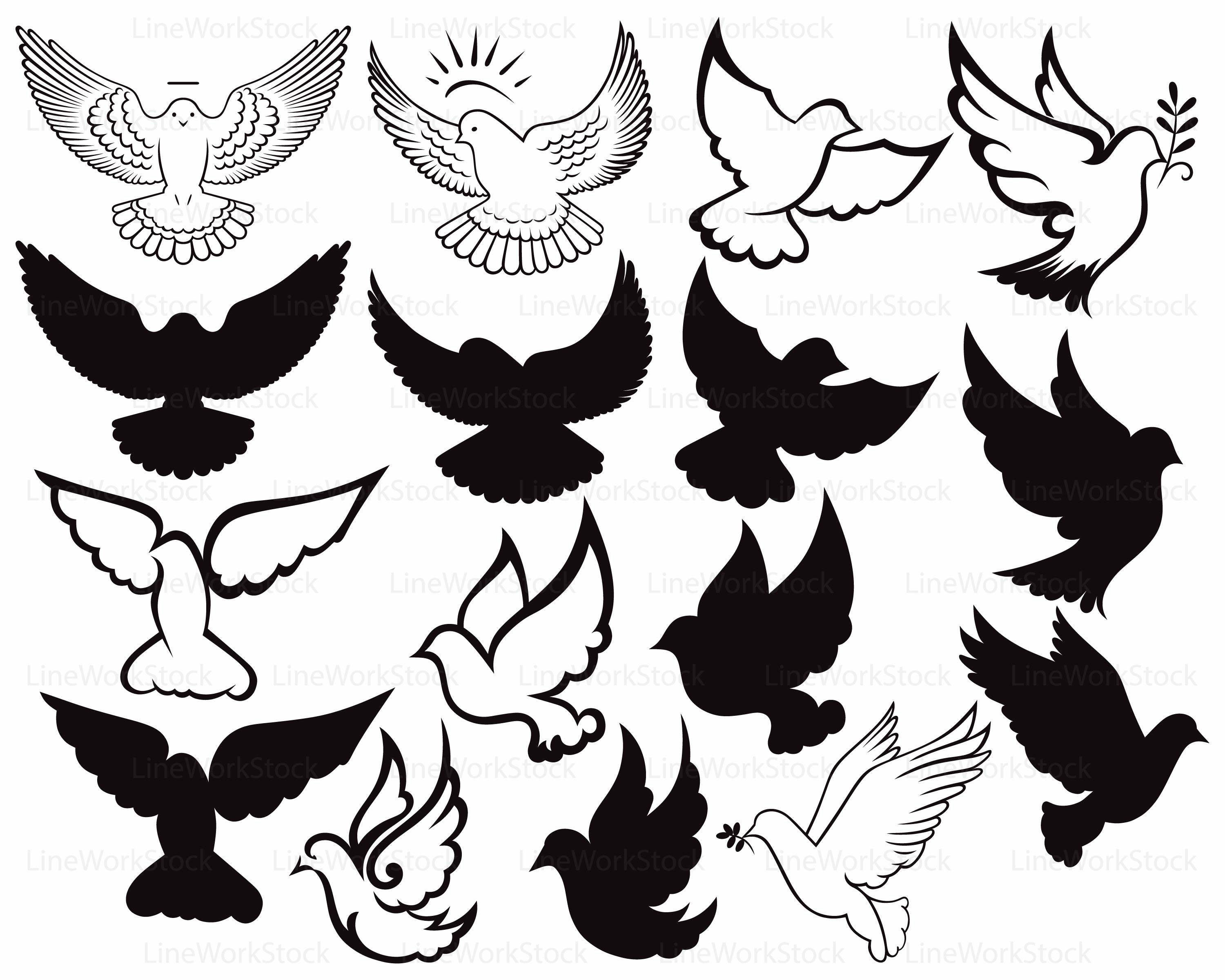 Holy Dove svg #3, Download drawings
