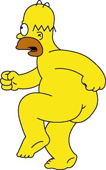 Homer Simpson clipart #5, Download drawings