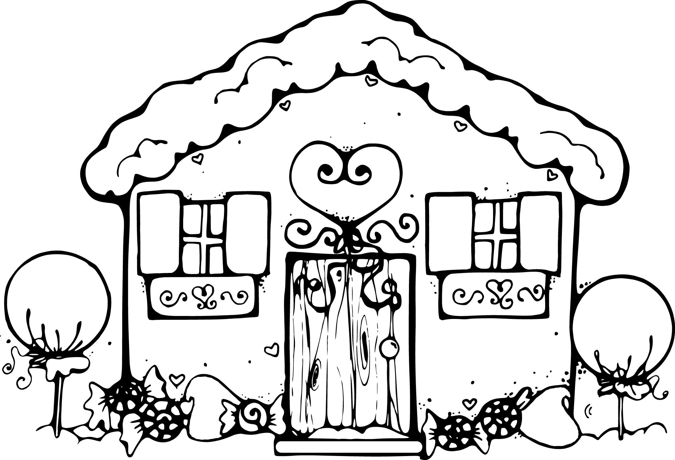 Homes coloring #2, Download drawings