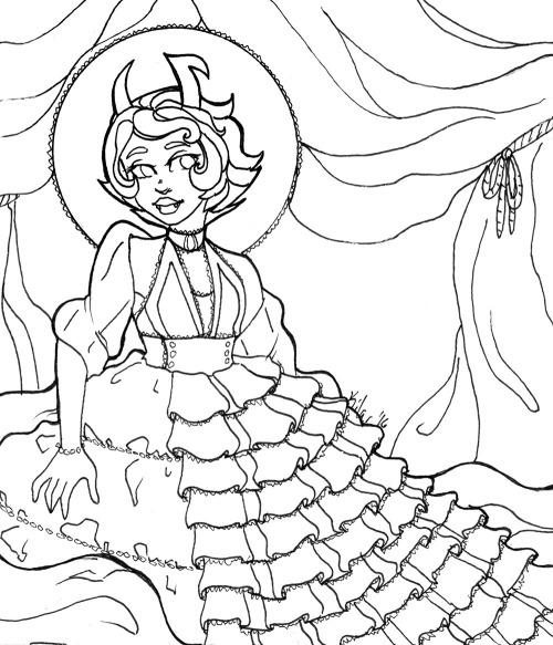 Homestuck coloring #13, Download drawings