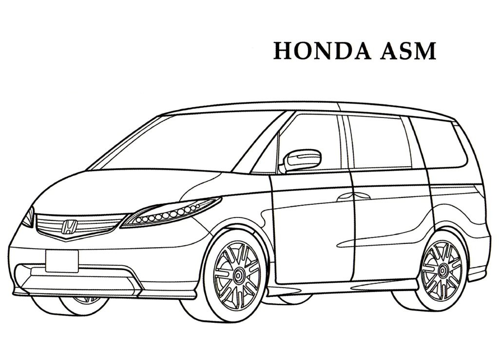 Honda coloring #6, Download drawings