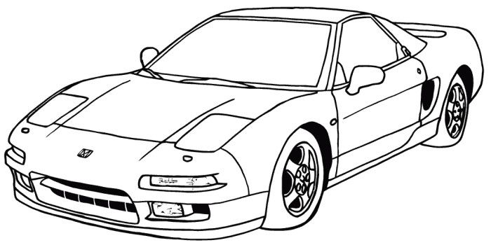Honda coloring #15, Download drawings