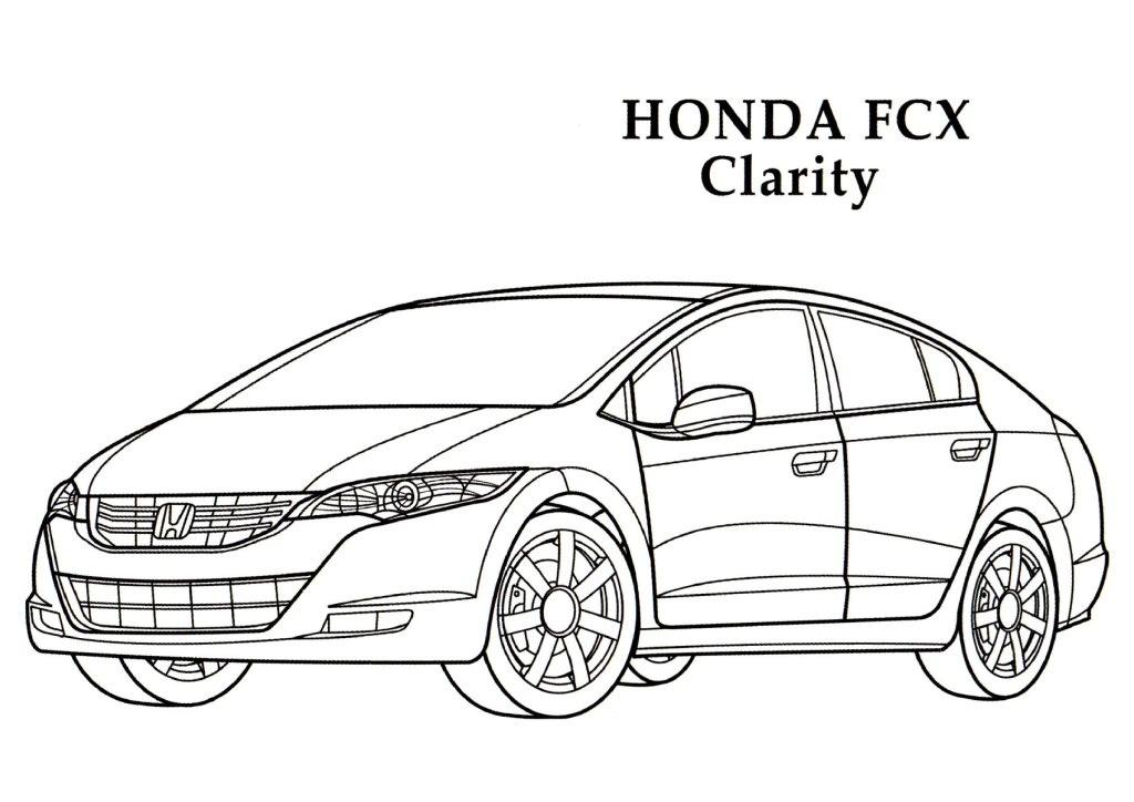 Honda coloring #18, Download drawings