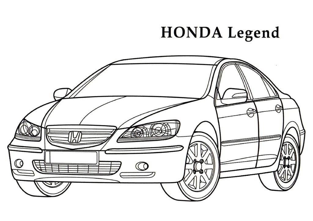 Honda coloring #5, Download drawings