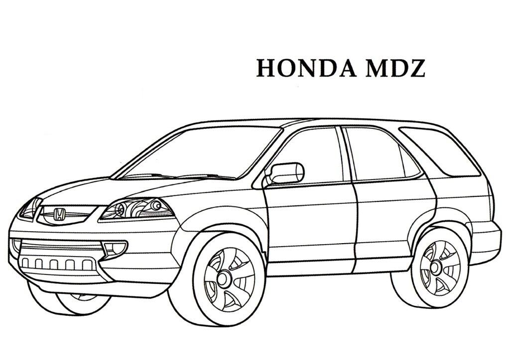 Honda coloring #19, Download drawings