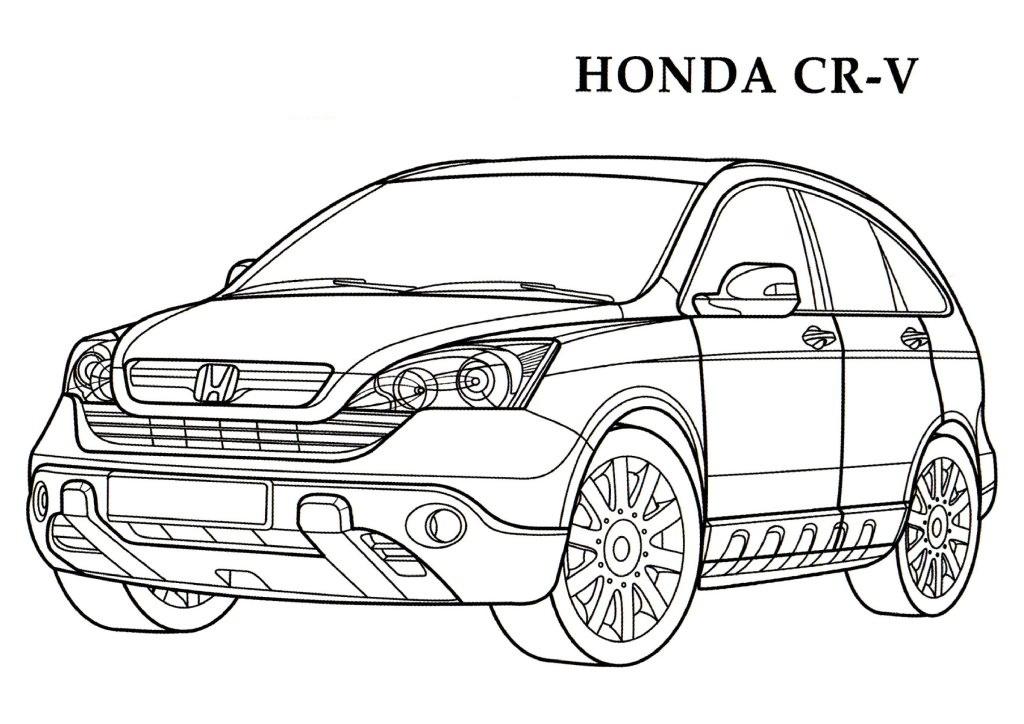 Honda coloring #2, Download drawings