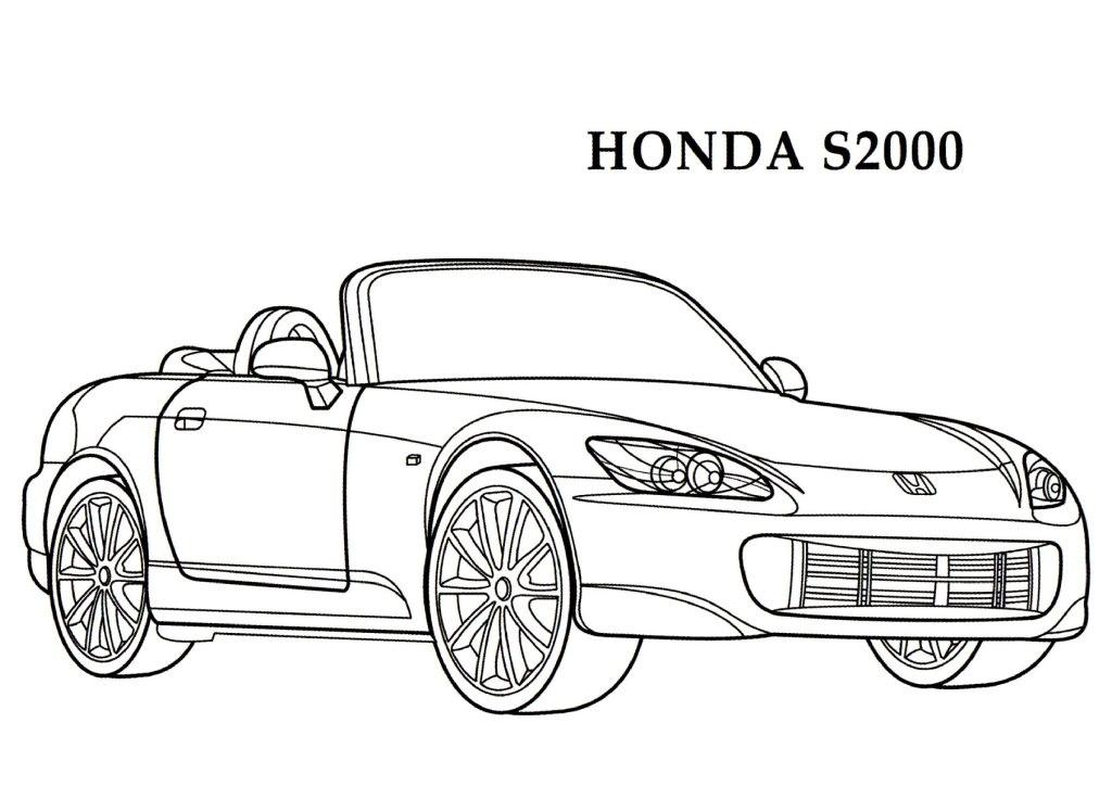 Honda coloring #10, Download drawings