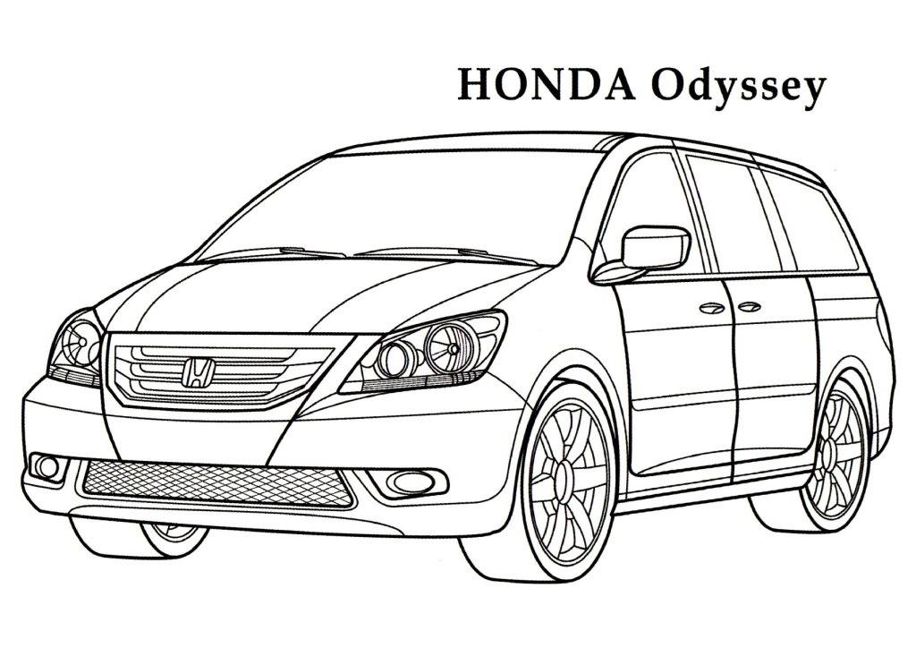 Honda coloring #8, Download drawings