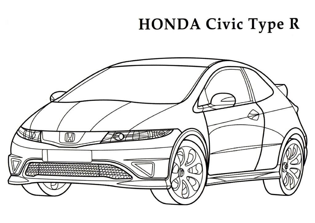Honda coloring #12, Download drawings