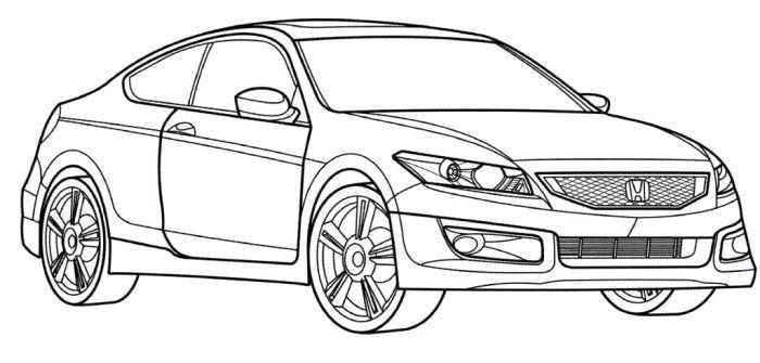 Honda coloring #17, Download drawings
