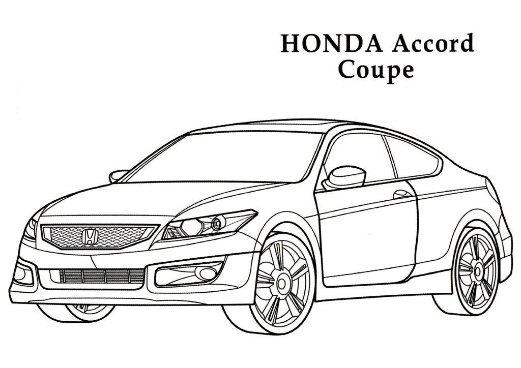 Honda coloring #4, Download drawings