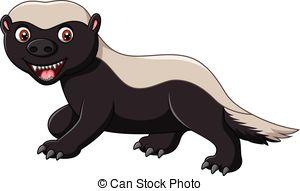 Honey Badger clipart #5, Download drawings