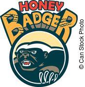 Honey Badger clipart #17, Download drawings