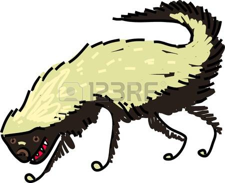 Honey Badger clipart #1, Download drawings