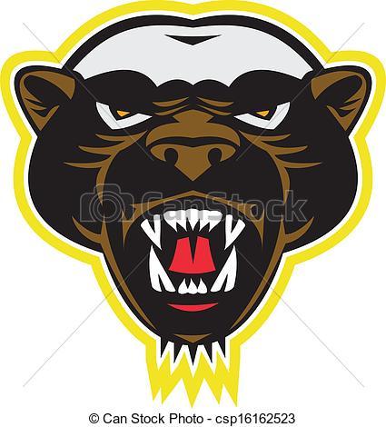 Honey Badger clipart #13, Download drawings