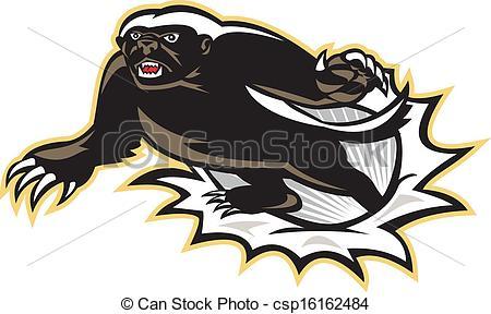 Honey Badger clipart #10, Download drawings