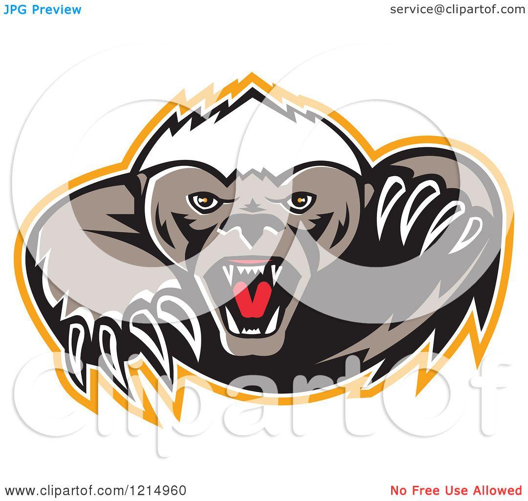 Honey Badger clipart #4, Download drawings