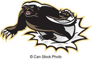 Honey Badger clipart #19, Download drawings