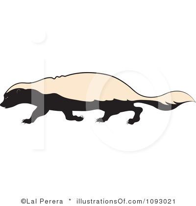 Honey Badger clipart #7, Download drawings