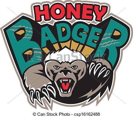 Honey Badger clipart #16, Download drawings