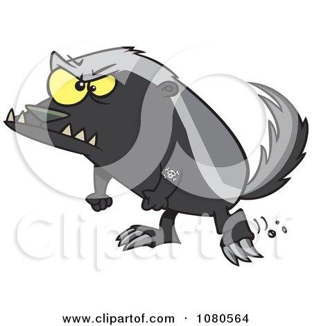 Honey Badger clipart #15, Download drawings