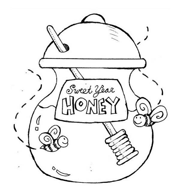 Honey coloring, Download Honey coloring for free 2019