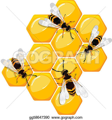 Honeycomb clipart #16, Download drawings