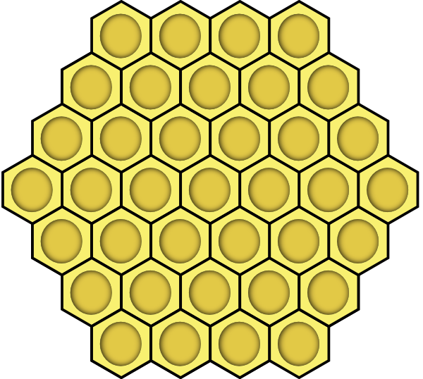 Honeycomb coloring #6, Download drawings
