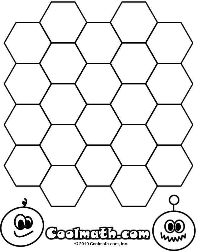 Honeycomb coloring #12, Download drawings