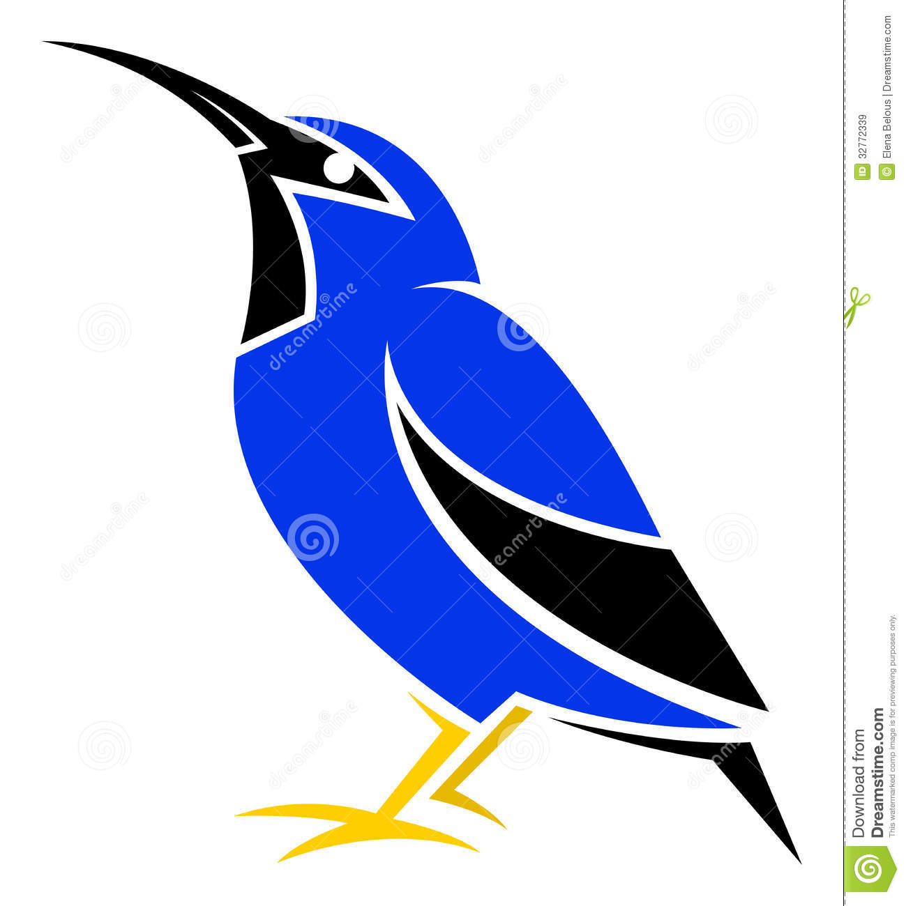Honeycreeper clipart #5, Download drawings