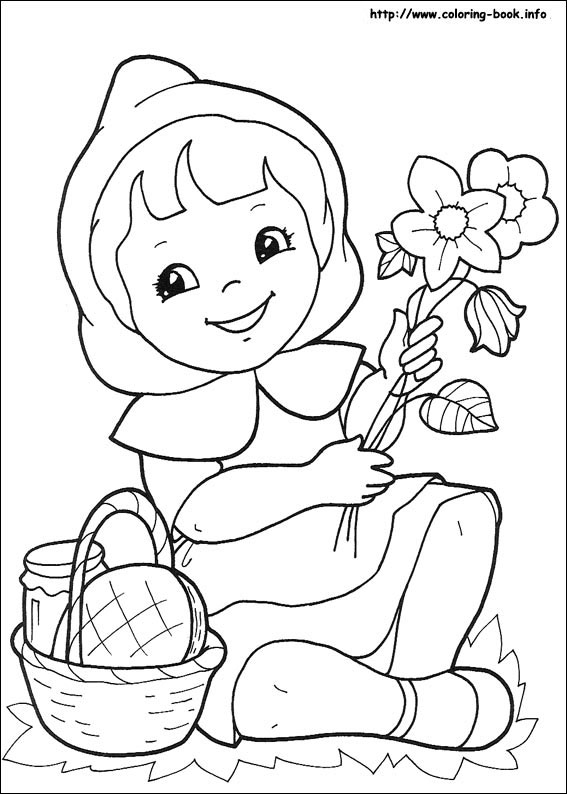 Hood coloring #13, Download drawings