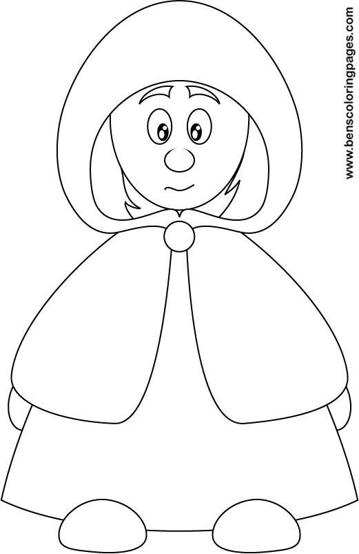 Hood coloring #3, Download drawings