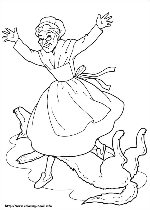 Red Riding Hood coloring #7, Download drawings