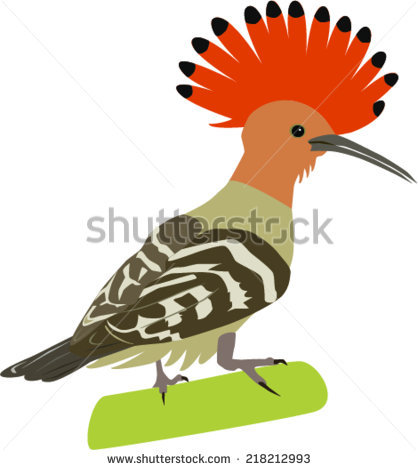 Hoopoe  clipart #19, Download drawings