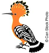 Hoopoe  clipart #5, Download drawings