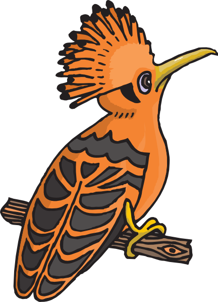 Hoopoe  clipart #2, Download drawings