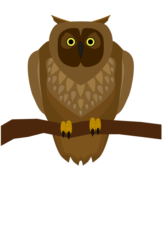 Hooter clipart #9, Download drawings