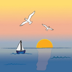 Horizon clipart #2, Download drawings