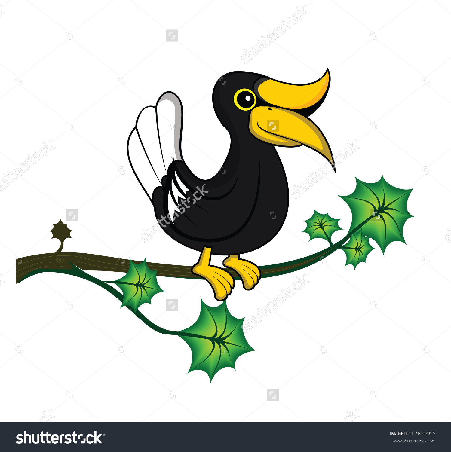Hornbill clipart #4, Download drawings