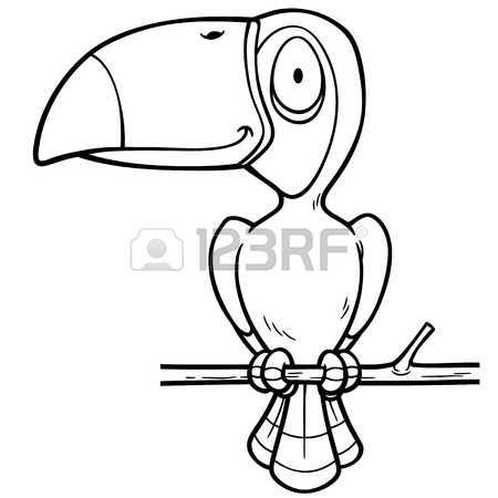 Hornbill coloring #14, Download drawings