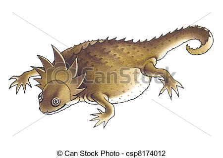 Horned Lizard clipart #3, Download drawings