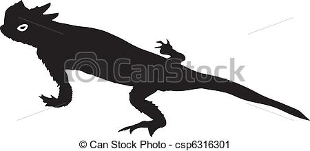 Horned Lizard clipart #1, Download drawings