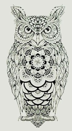 Great Horned Owl svg #5, Download drawings