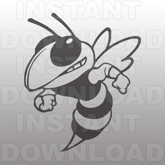Hornet svg #1, Download drawings