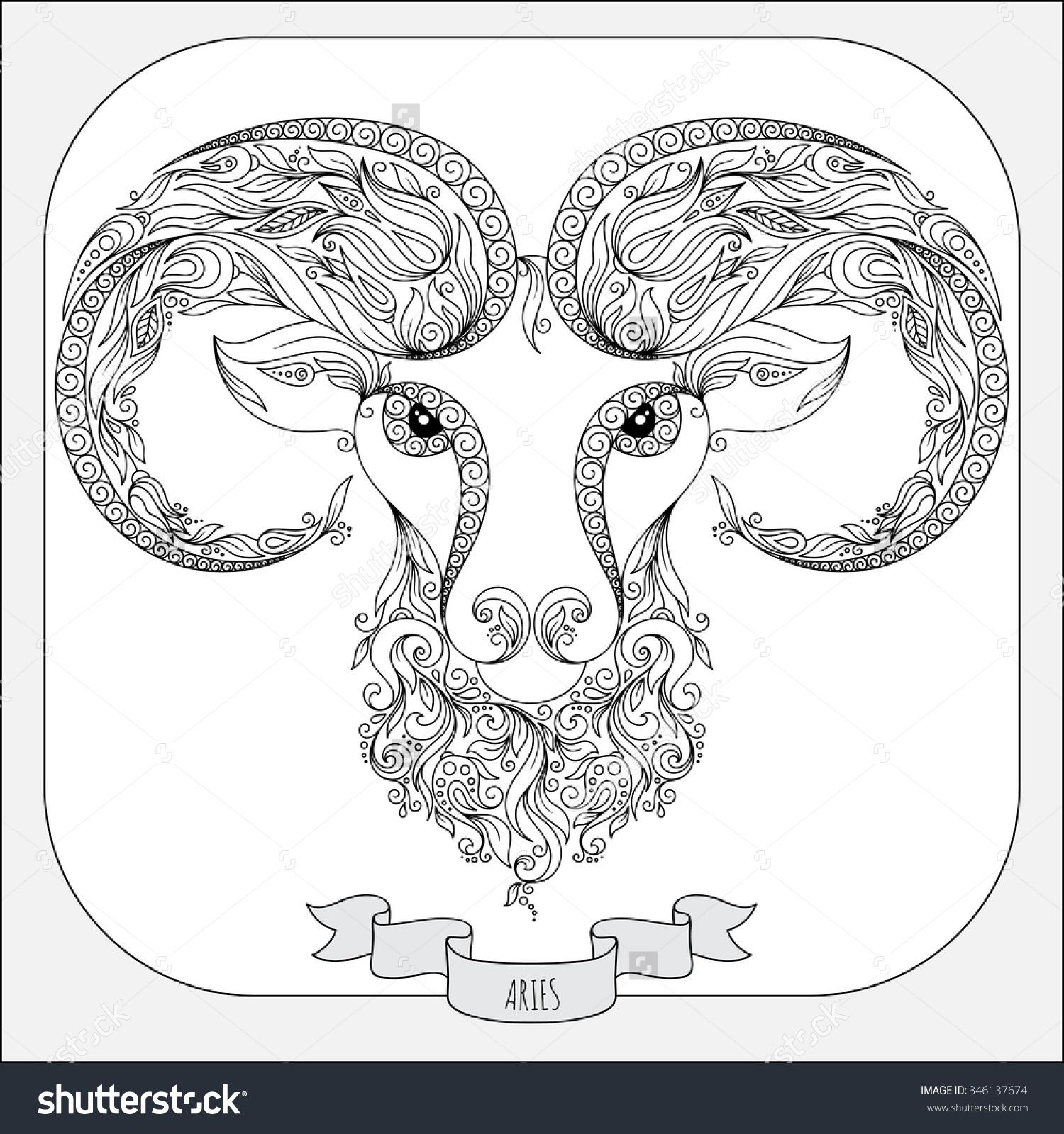 Aries coloring #12, Download drawings